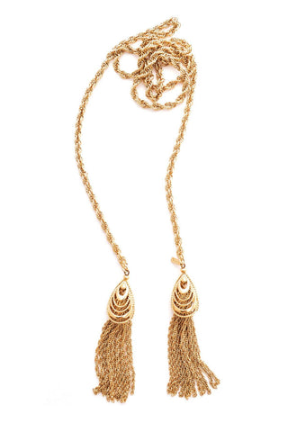 Tassel Wrap Around Necklace