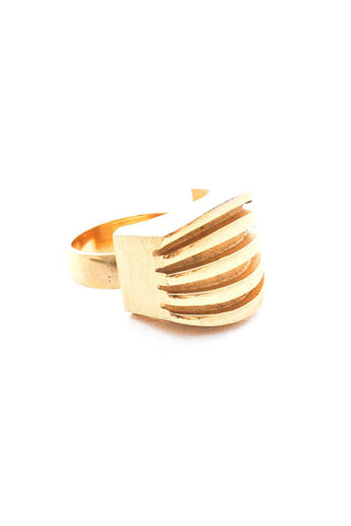 Adjustable Raised Rows Ring