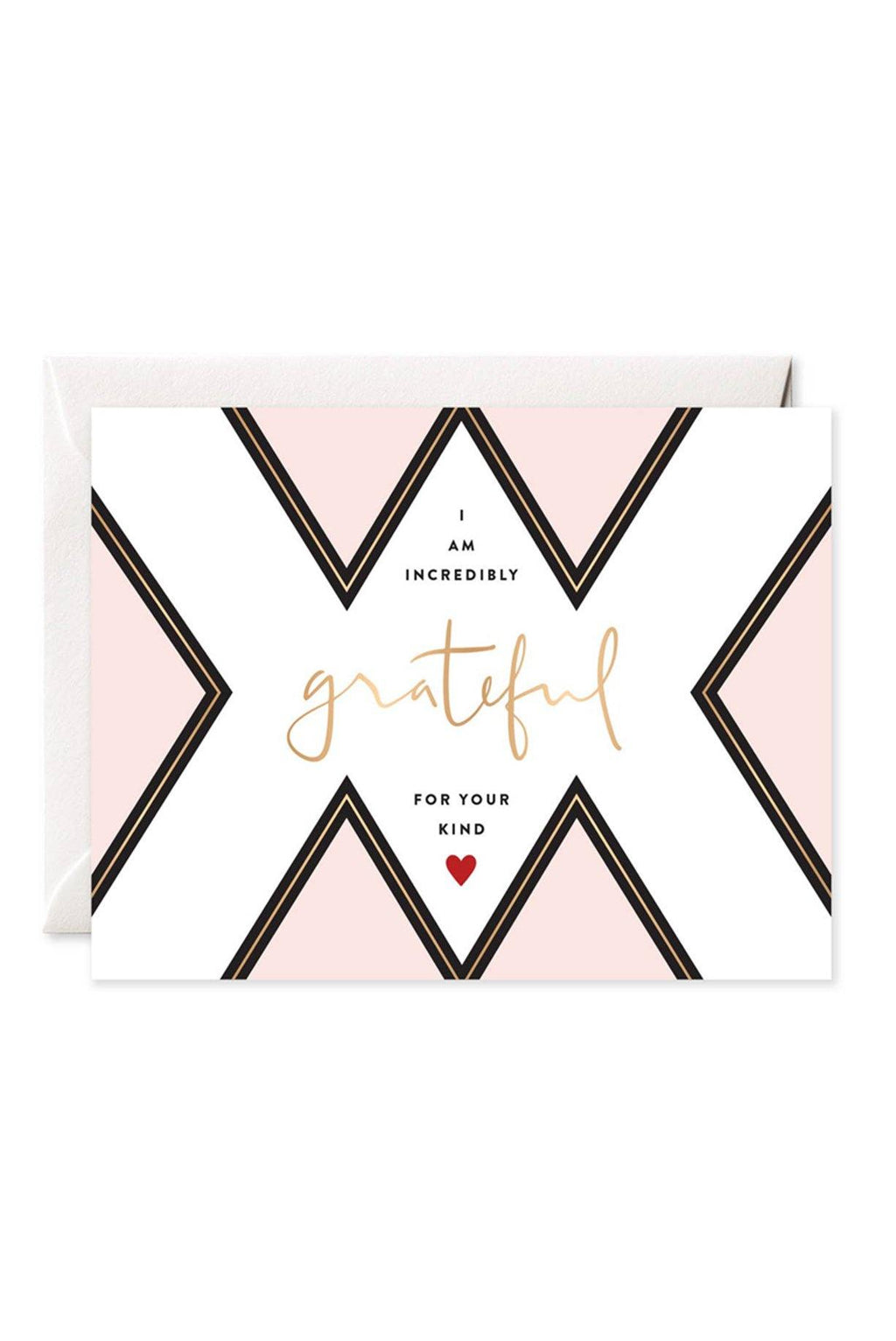 I Am Grateful Card