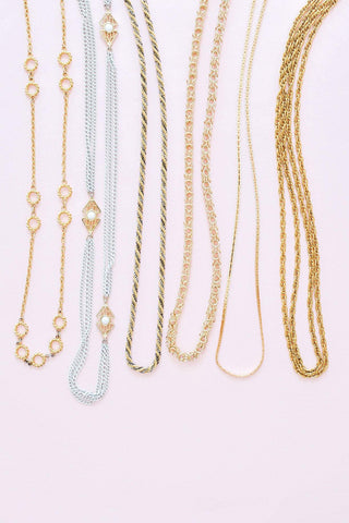 Knot Link Chain Necklace
