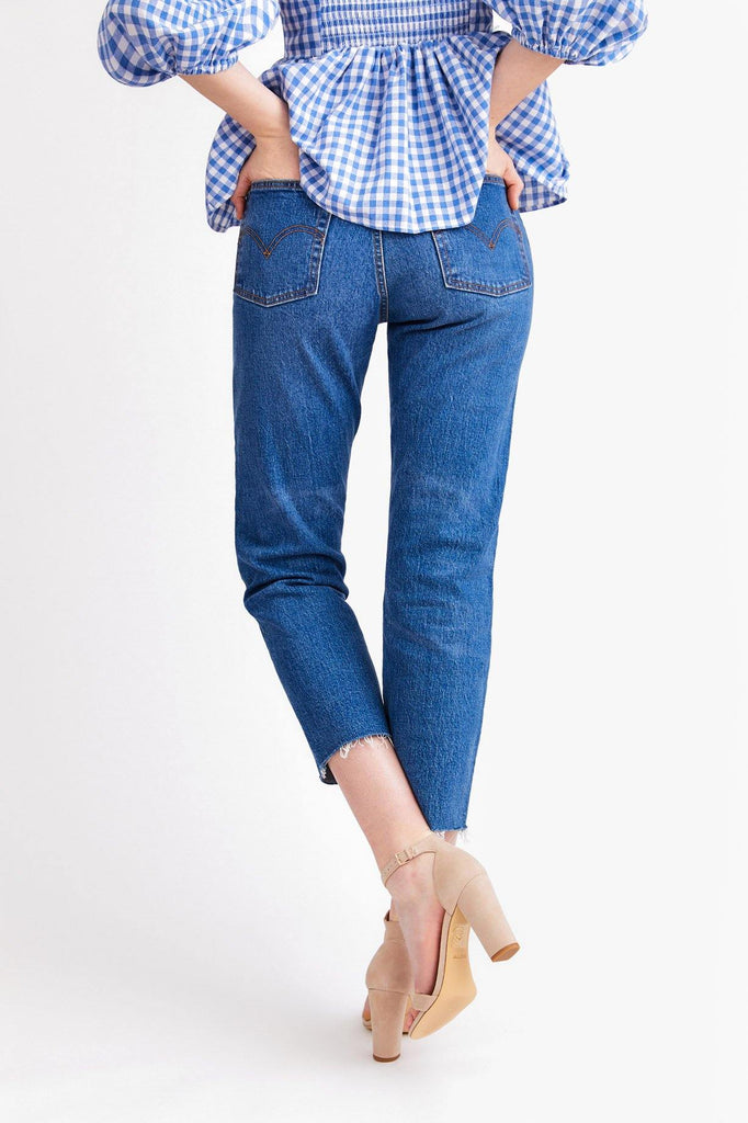 Levi's Love Triangle Wedgie Jeans