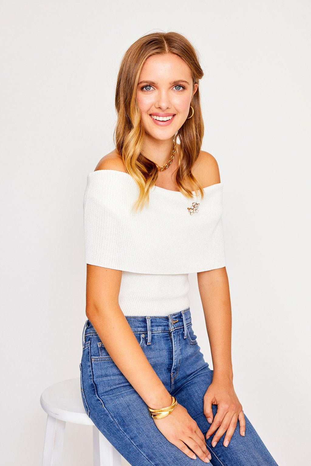 Perez Off Shoulder Top