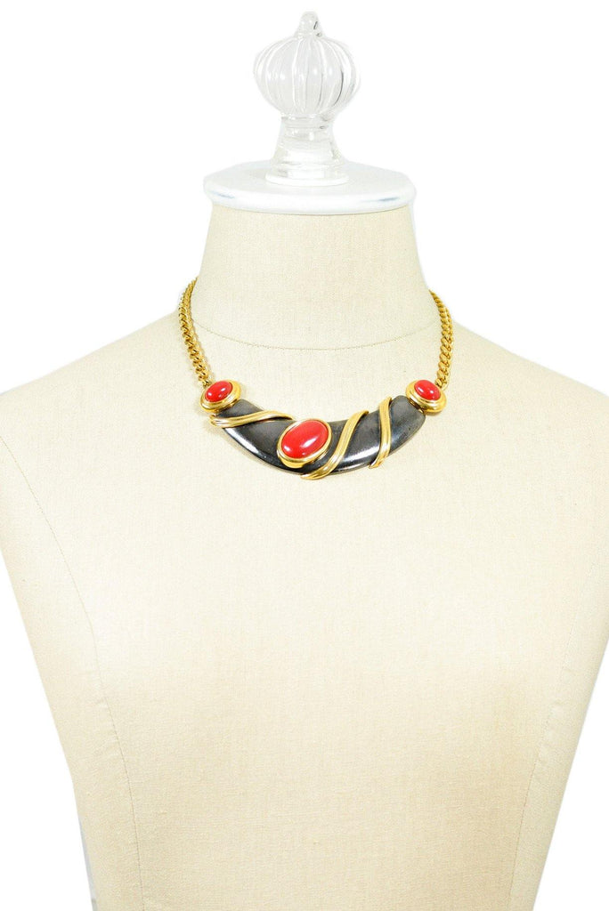 80's__Monet__Chunky Choker Necklace
