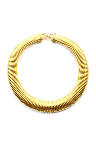 80s__Monet__Statement Gold Necklace