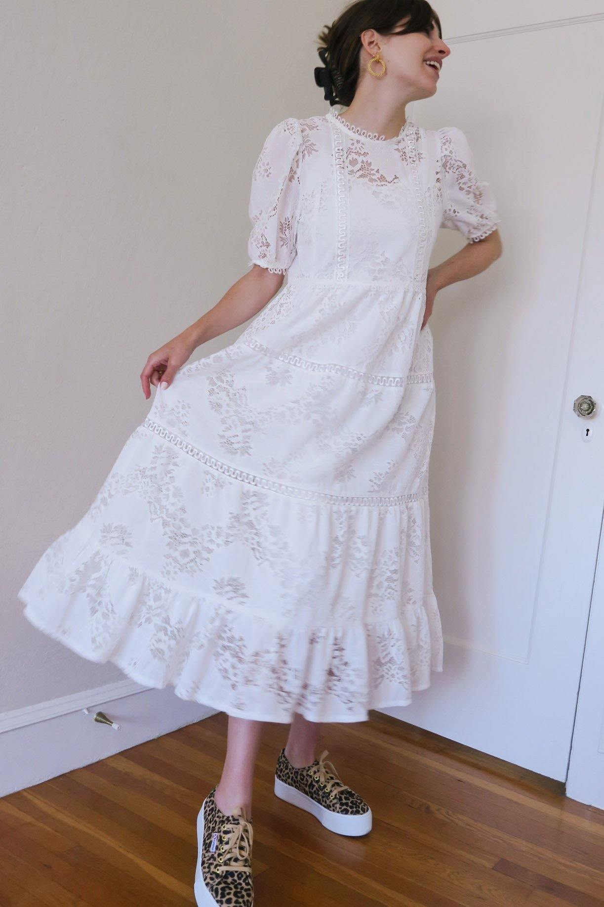 Moon River White Dress