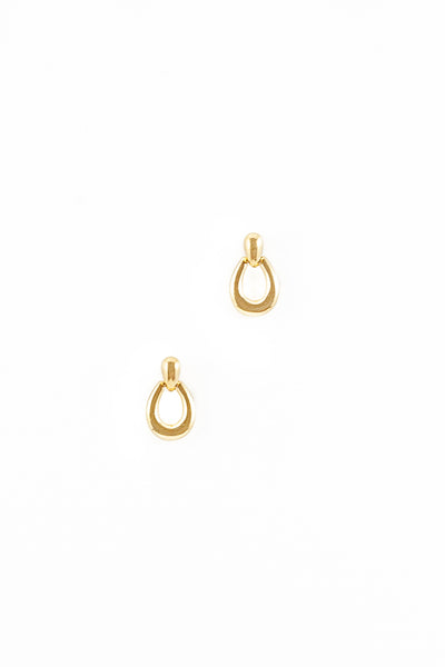 70's__Monet__Simple Drop Earrings