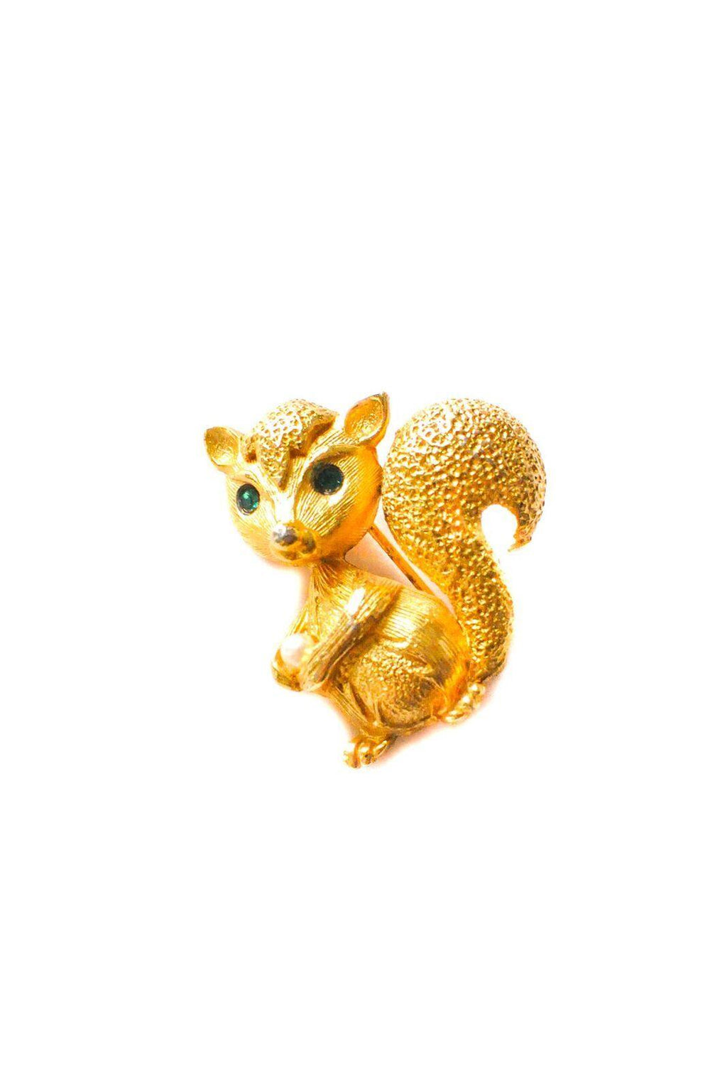 Squirrel Brooch