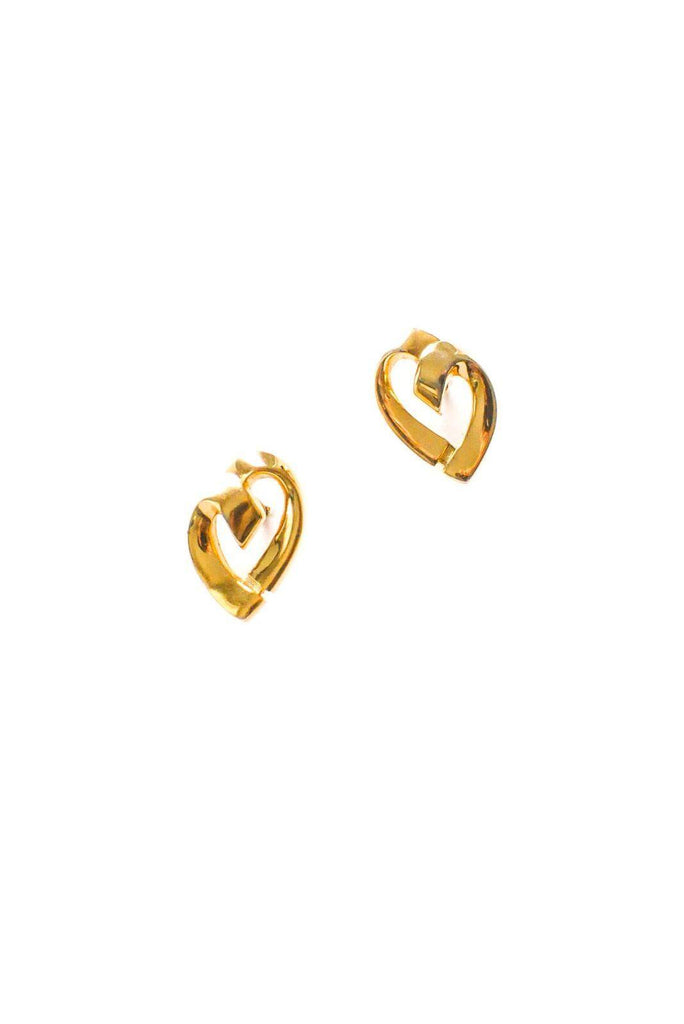 Heart Pierced Earrings