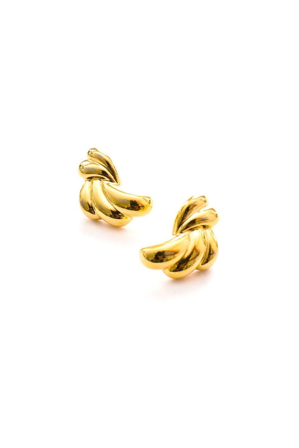 Swirl Pierced Earrings
