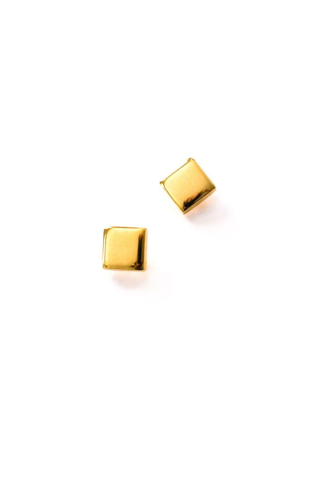 Square Pierced Earrings