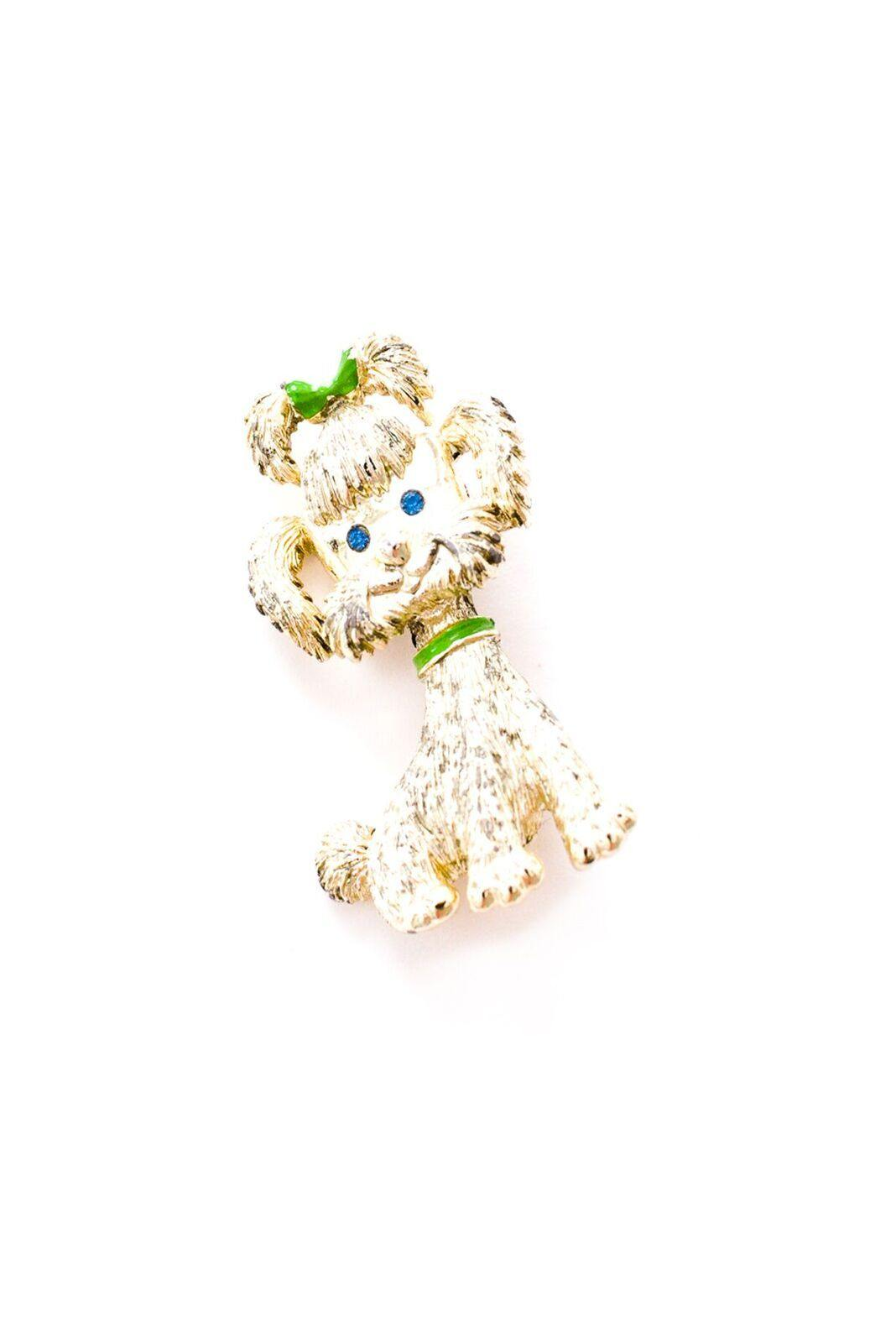Girly Puppy Brooch