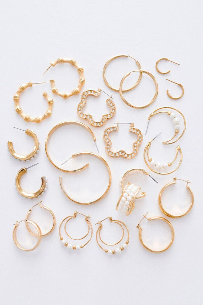 Dainty Hoop Pierced Earrings