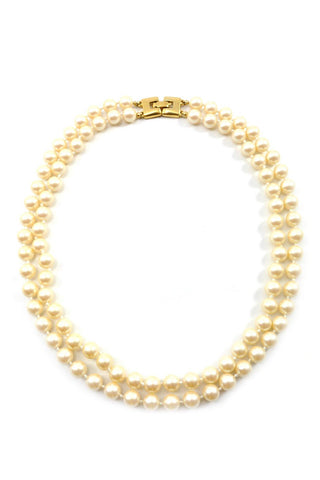 80s__Monet__Classic Pearl Necklace