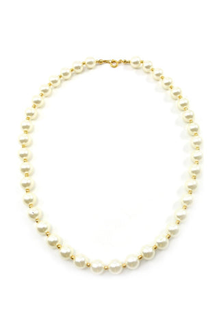 80s__Vintage__Classic Pearl Necklace