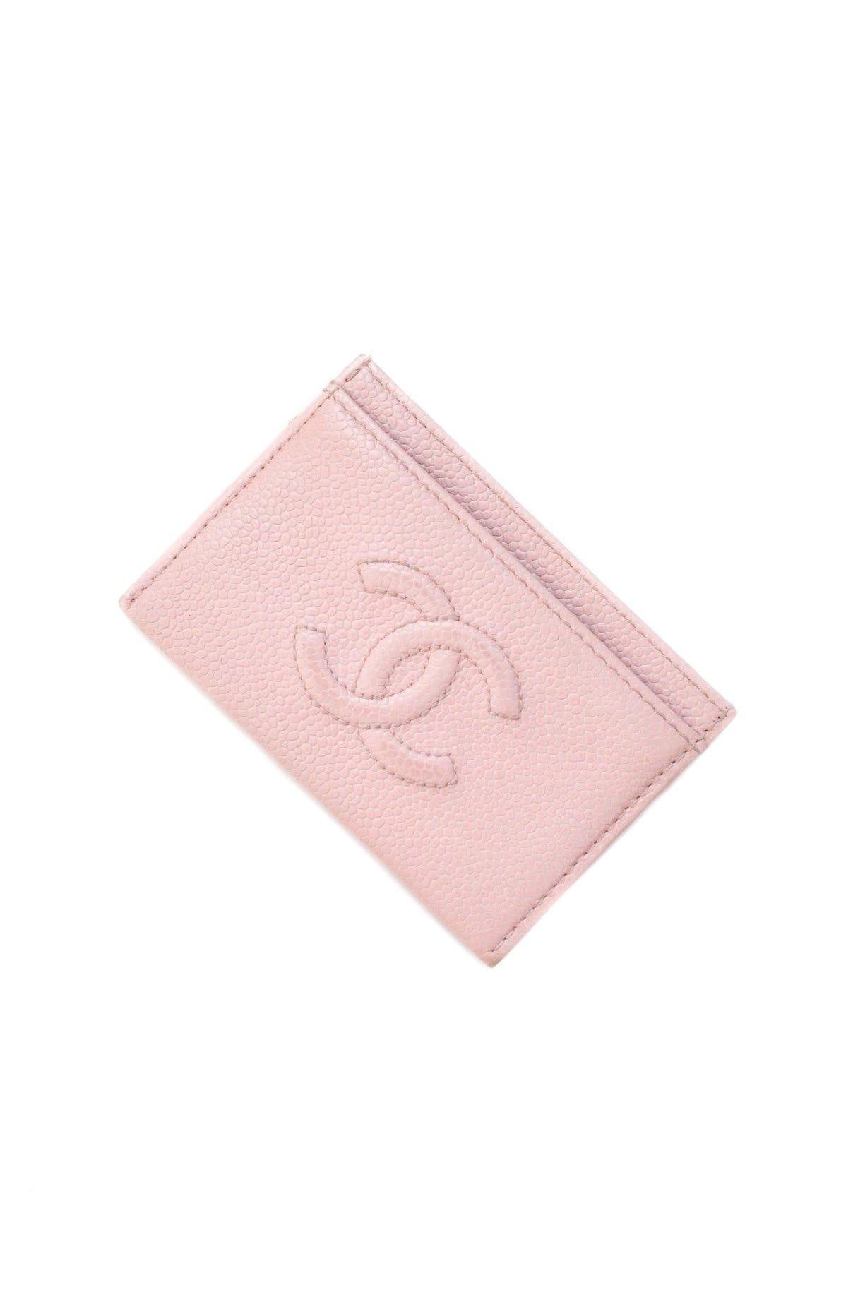 Chanel Pink Card Case
