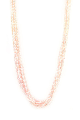 50's__Alice Caviness__Pearl Multi-Strand Necklace