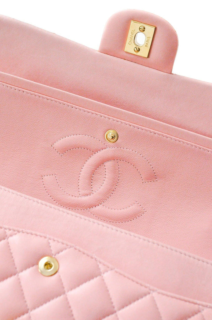 Chanel 2.55 Pink Lambskin Flap Bag