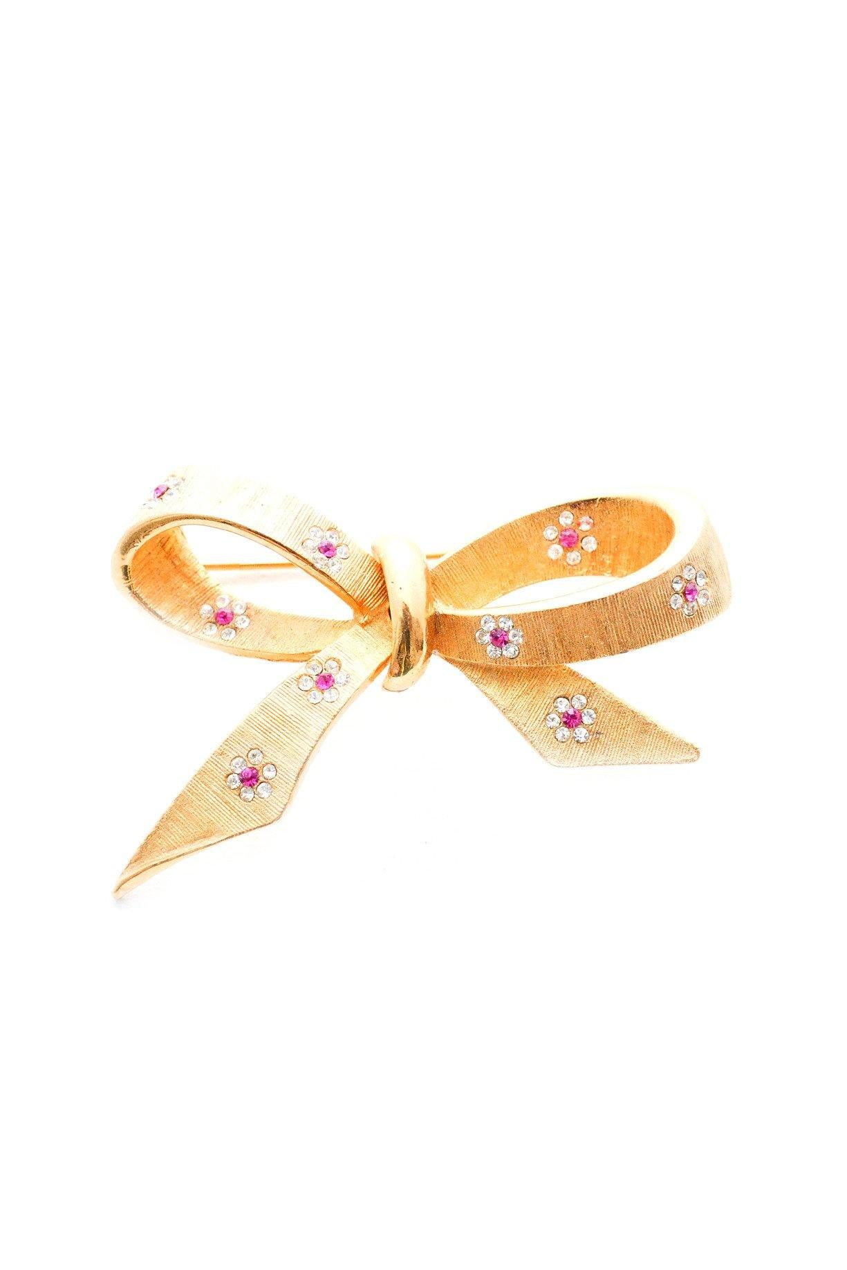 Daisy Bow Brooch