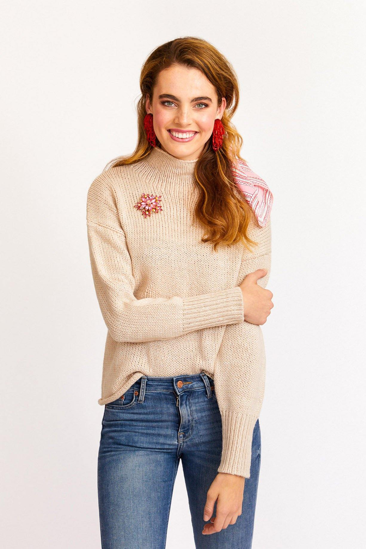 Sanctuary curl up sweater from Sweet & Spark.
