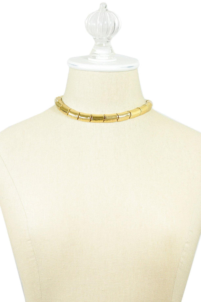 70's__Monet__Snake Choker Necklace
