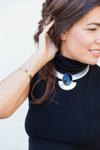 70's__Ben Amun__Chunky Statement Necklace