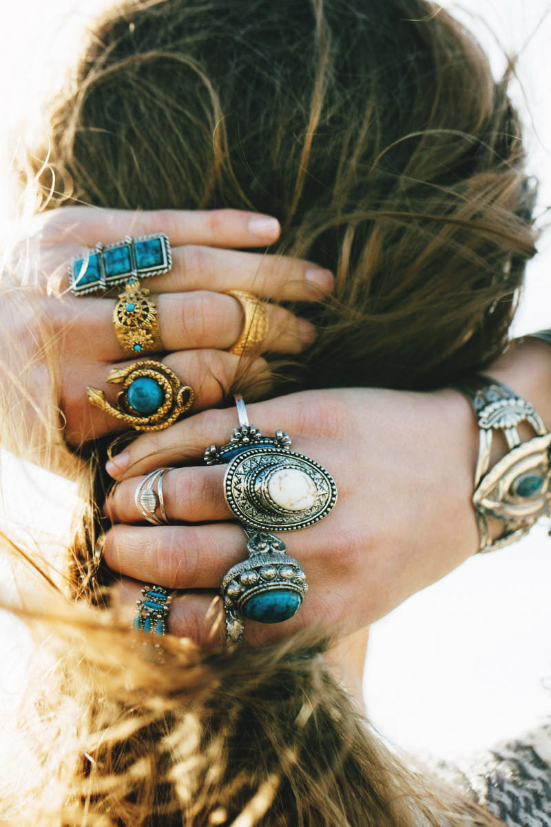 80's__Sarah Coventry__Layering Ring