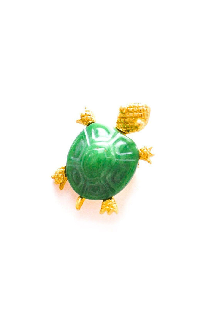 Mini Turtle Brooch