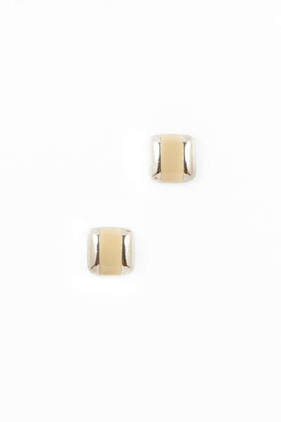 80's__Avon__Enamel Square Earrings