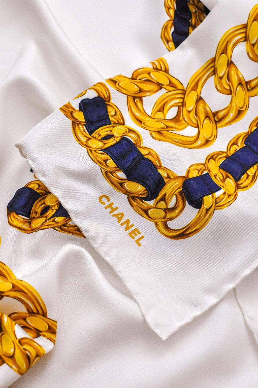 Chanel Nautical Square Scarf