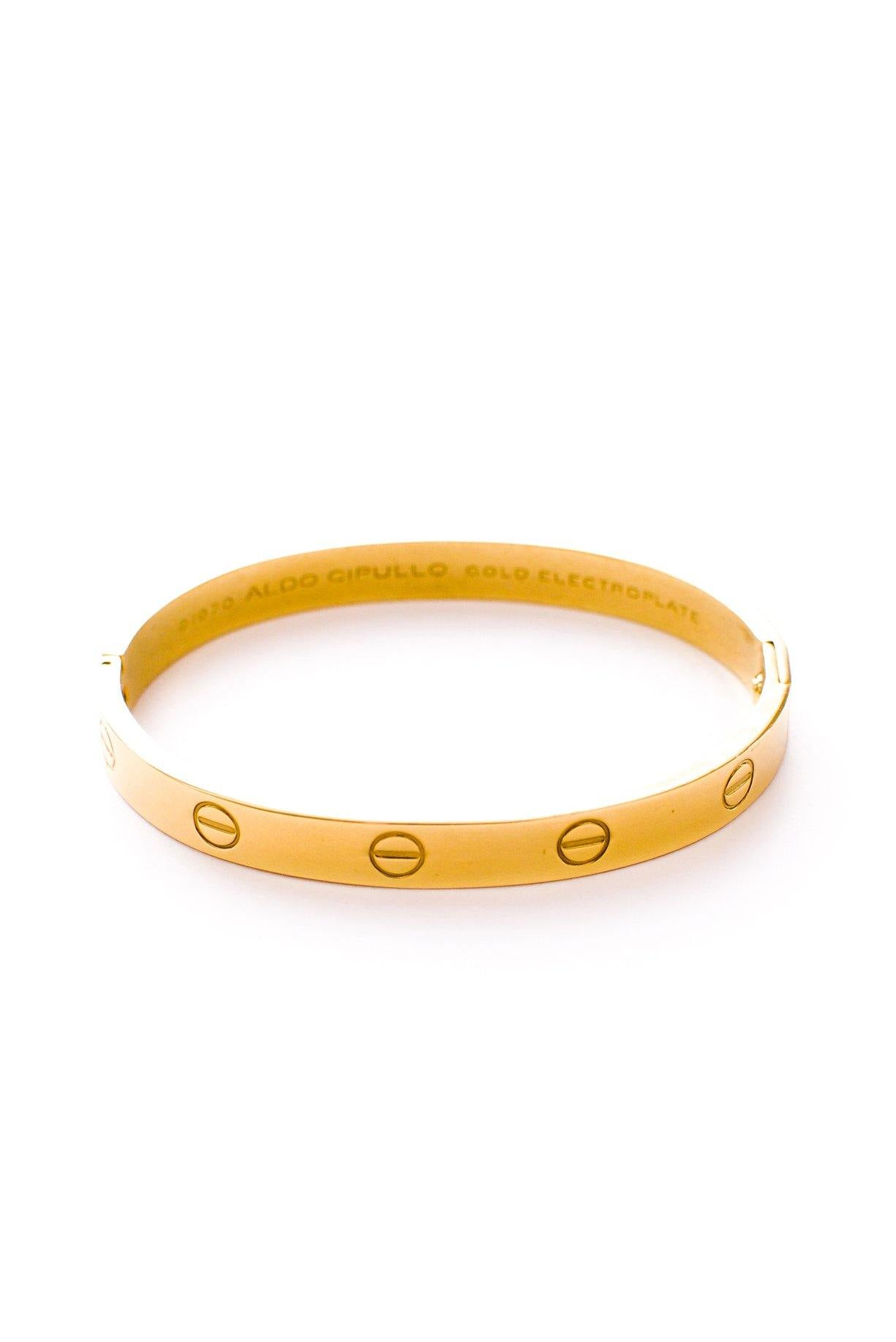 Original vintage 1970s Cartier Love bracelet by Aldo Cipullo for Charles Revson