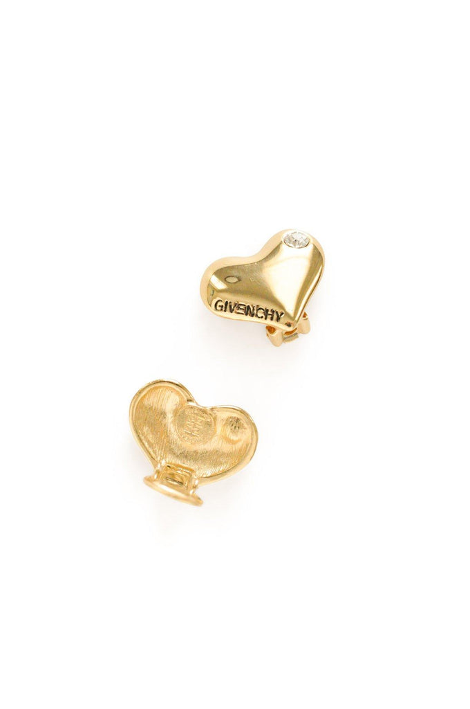 Givenchy Heart Clip-on Earrings