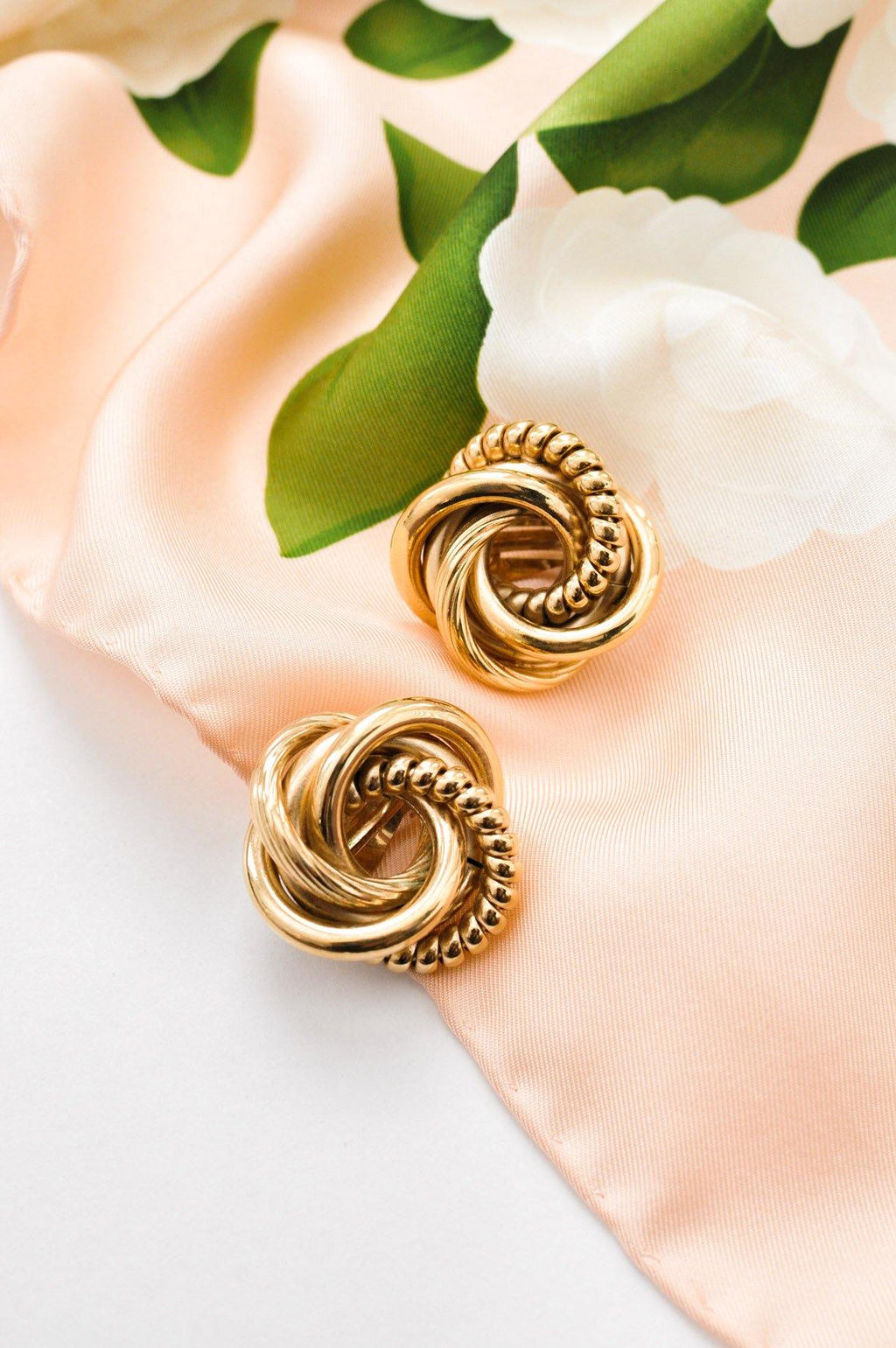 Givenchy Statement Love Knot Clip-on Earrings