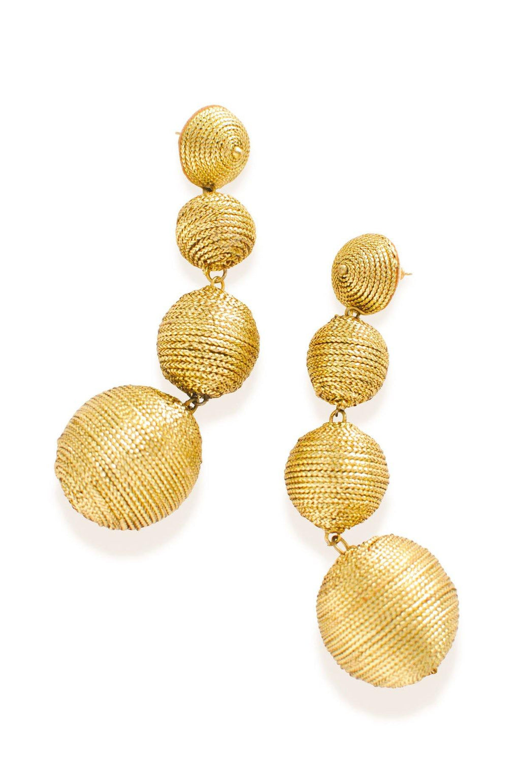 Kenneth Jay Lane Bon Bon Pierced Earrings