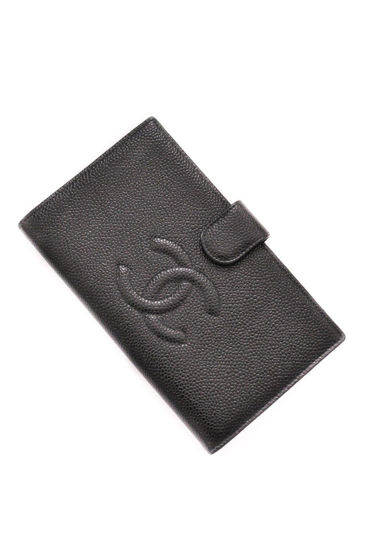 Chanel CC Black Folding Wallet