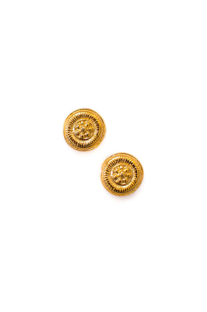 Givenchy Coin Pierced Earrings