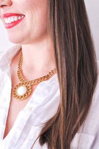 Swirled Chain Necklace