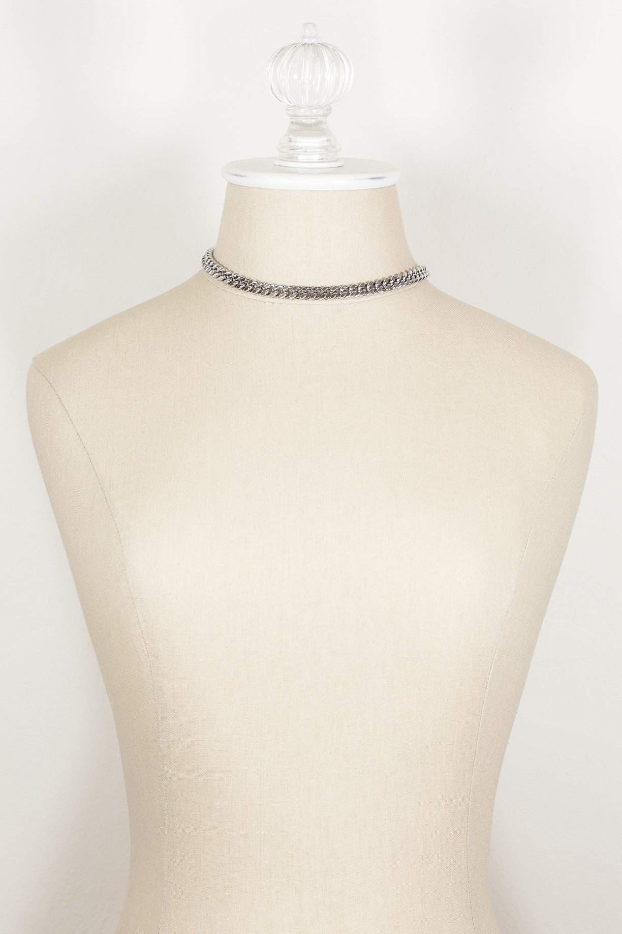 60's__Barclay__Classic Curb Chain Necklace