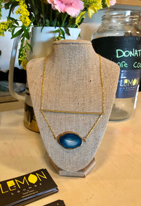 Undercover Diva Agate Necklace