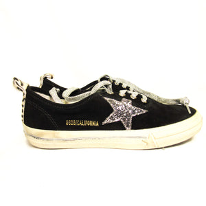 Golden Goose Suede Star-Patch Sneakers