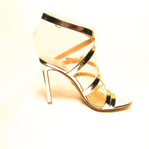 Gianvito Rossi Leather Strappy Ankle Strap Sandals