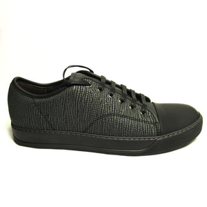 Lanvin Textured Low Top Sneakers