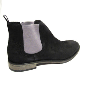 Rush by Gordon Rush Black Suede Chelsea Boot