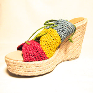Manebi Women's Yellow Espadrilles