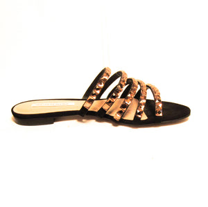 Saks Fifth Avenue Embellished Slide Sandal