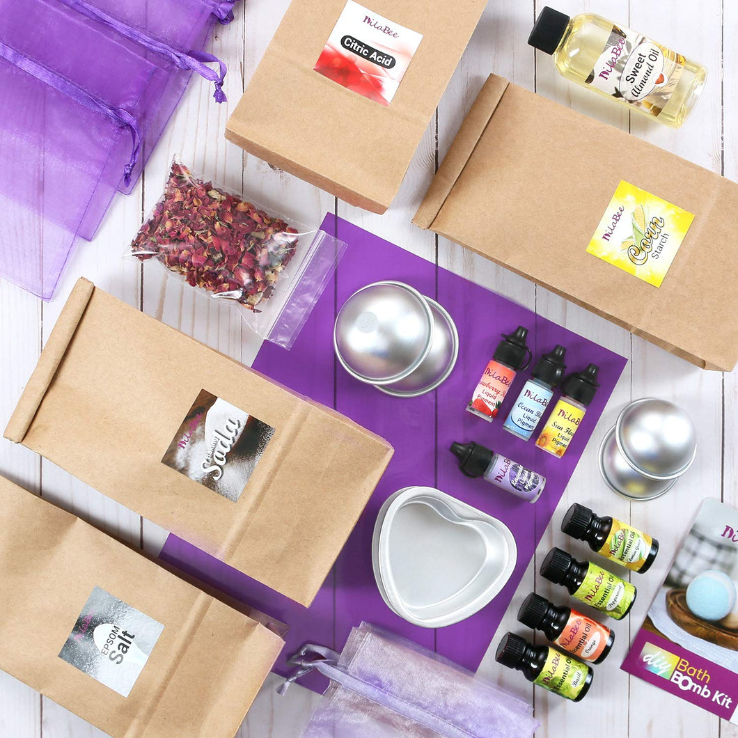 Ultimate DIY Bath Bomb Making Kit