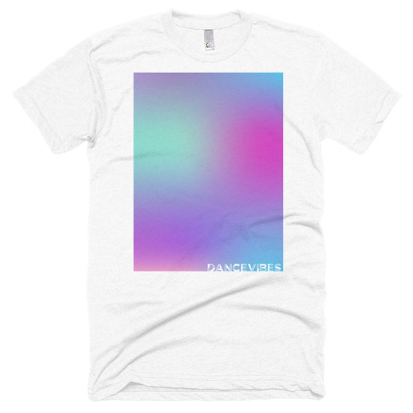 Unisex rainbow blue short sleeve t-shirt