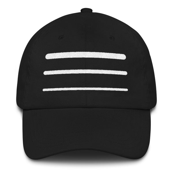 Stripe Dad hat