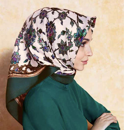 March Giveaway: A Silk Hijab!