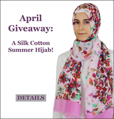April Giveaway Time!