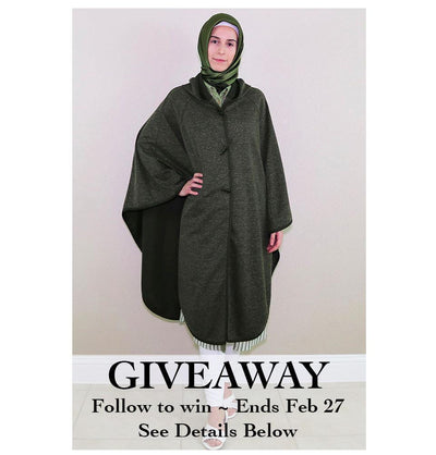 February Giveaway: Win a Poncho!